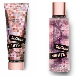 VS Sequin Nights Fragrance Lotion & Mist Set